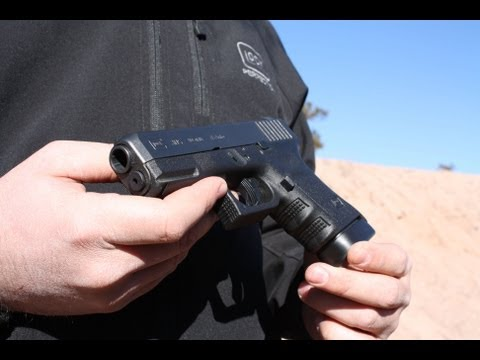 Shooting the NEW Glock 30S .45 ACP - SHOT Show 2013