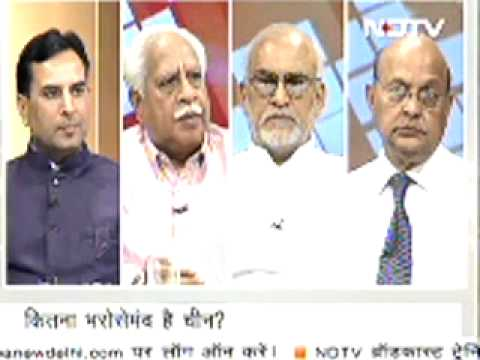 Captain Abhimanyu in Debate of NDTV on 20 May Part 2