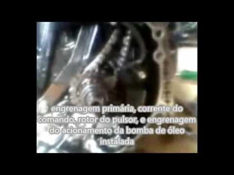 montagem do motor da xlx 250 com quite da crf