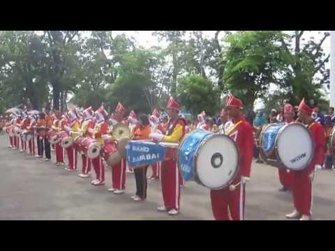 juara 1 festival DRUMBAND - SMAN 1 Barabai angkatan 2012/2013