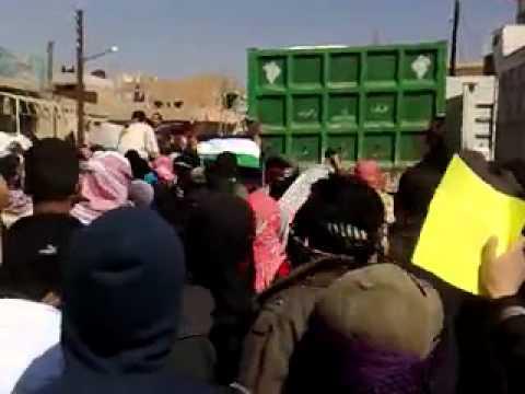 الحسكة:غويران جمعة الوفاء للانتفاضة الكردية2004 ج1 9\3\2012