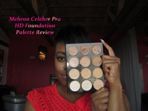 Mehron Celebre HD Palette Review