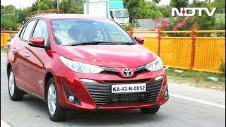 रफ्तार: टोयोटा की नई सेडान यारिस की टेस्ट ड्राइव - NDTVINDIA