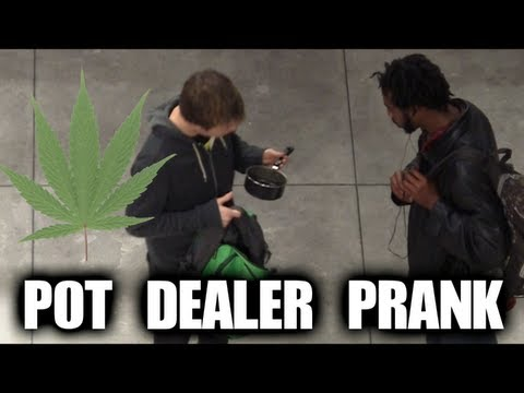 Public Prank - Pot Dealer
