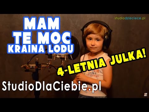 Mam tę moc - Kraina Lodu (cover by Julia Bańkowska - 4 lata)