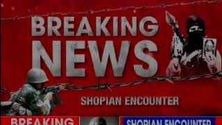 Shopian Encounter: 2 terrorists affiliated with proscribed terror outfit al-badr killed - NEWSXLIVE