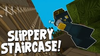 watch the youtube video Minecraft - Mission To Mars - Squid's Slippery Staircase! [5]