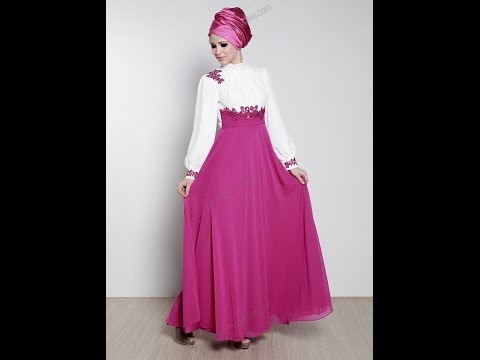 فساتين محجبات صيف 2014 - Dresses hijab