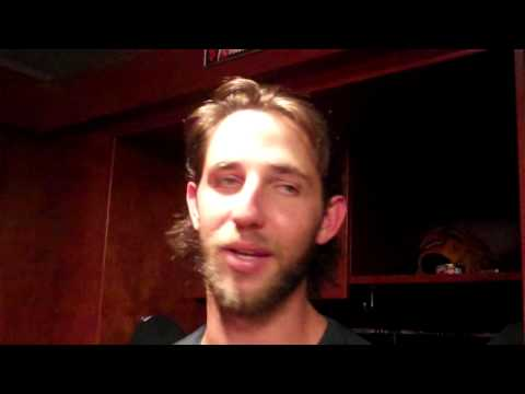 Madison Bumgarner talks about his grand slam