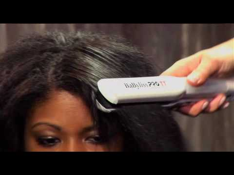 Babyliss Pro TT Steam Flat Iron Tutorial