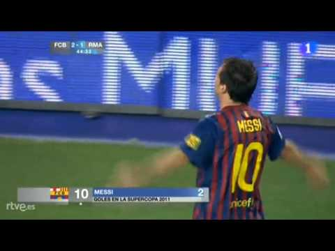 Barcelona 2 Madrid 1 Golazo de Messi