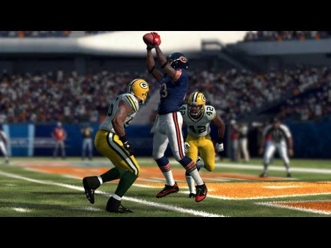 Madden NFL 12 Demo: Chicago Bears vs Green Bay Packers