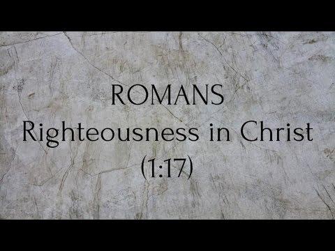 New Testament Survey - Romans pt. 1