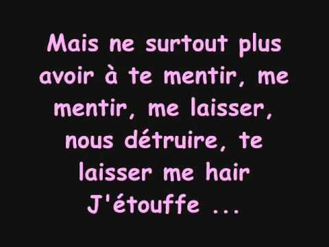 Vitaa - Le départ (paroles)