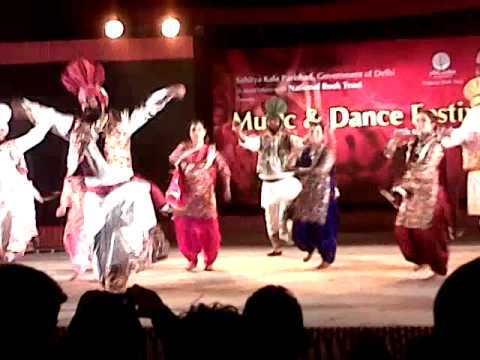 Punjabi Bhangra & Gidda at New Delhi World Book Fair 2014