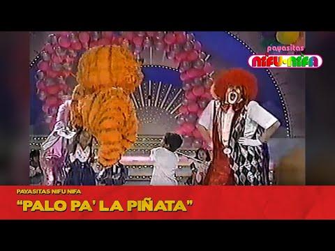 Payasitas Nifu Nifa - Palo pa' la Piñata (Súper Sábado Sensacional)