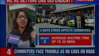 Ola, Uber drivers' union stopped from taking out march to Vidhan Bhavan - NEWSXLIVE