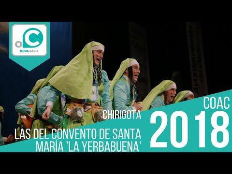Sesión de Preliminares, la agrupación Los del convento de Santa María La Yerbabuena actúa hoy en la modalidad de Chirigotas.