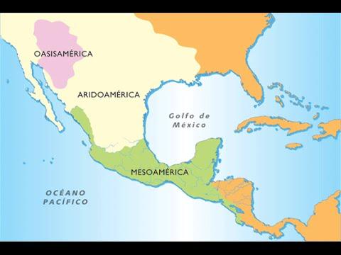 Mesoamerica, Oasisamerica y Aridoamerica