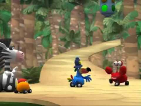 Przystanek Dżungla - Tańce Krabusia - Oglądaj w Disney Junior!