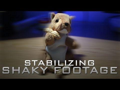 Sony Vegas - Stabilizing Shaky Footage