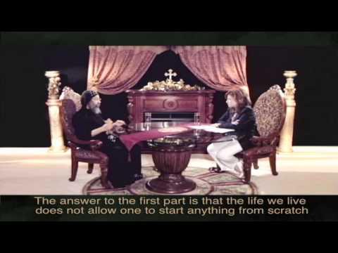 الحلقة الأول من برنامج أعن عدم ايماني - الإلحاد - الأنبا رافائيل