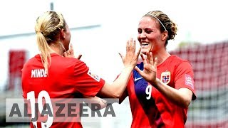 Norwegian women's football team becomes first to score equal pay as male counterparts - ALJAZEERAENGLISH