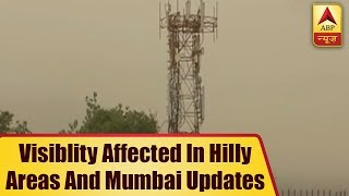 Uttarakhand: Visibility affected in hilly areas as dusty haze persists - ABPNEWSTV