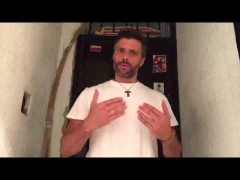 TVRadioMiami - Video de Leopoldo desde la cárcel de Ramo Verde
