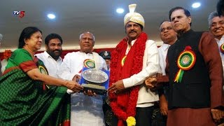 Actor Mohan Babu Recieved Dr. Bezawada Gopala Reddy Award : TV5 News - TV5NEWSCHANNEL
