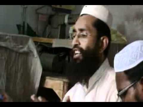 Mnazra sma'a slat-o-slam ind qabar ul Nabi(s a a w) by Maulana Muhammad Nwaz Sahib (Faisalabadi)p 8