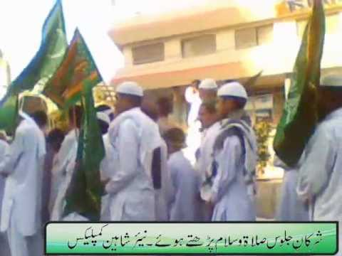 JASHN-E-MILAD-UN-NABI  5th FEBRUARY,2012, Hijrat Colony, Karachi