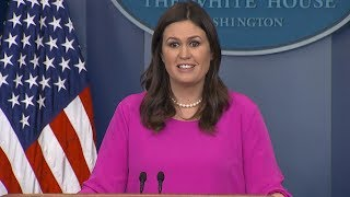 White House press briefing on shutdown, DACA immigration negotiations| ABC News - ABCNEWS