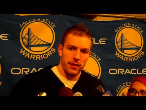 David Lee on Andre Iguodala almost coming up with top 10 dunk