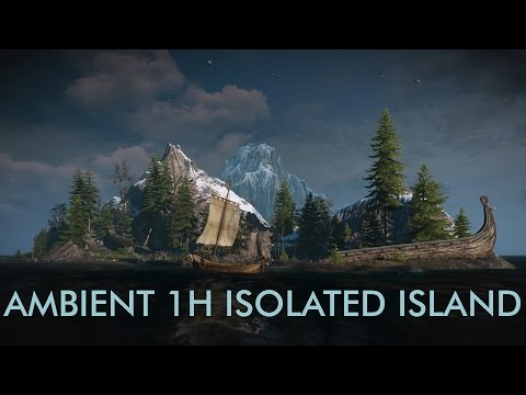 AMBIENT 1H ISOLATED ISLAND - Relaxing Ambient when you work or meditation
