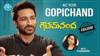 Goutham Nanda Movie Hero Gopichand Exclusive Interview || Talking Movies With iDream #451 - IDREAMMOVIES