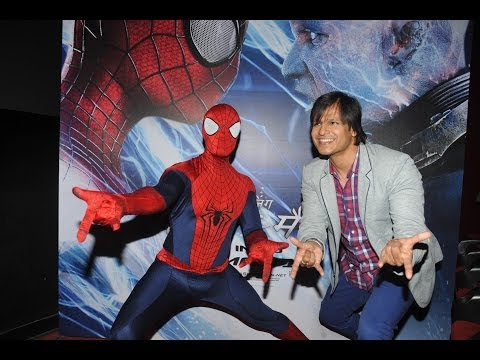 Vivek Oberoi Launches The Amazing Spiderman 2 Hindi