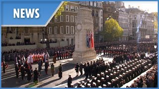 The Queen and country mark Remembrance Day at the Cenotaph - THESUNNEWSPAPER