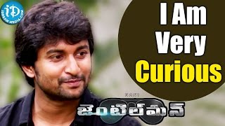 I Am Very Curious To Know About My Family Response On Gentleman - Nani    Talking Movies with iDream - IDREAMMOVIES