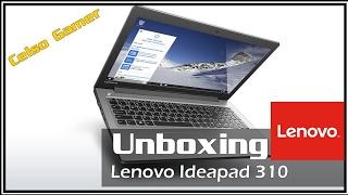 Unboxing Lenovo Ideapad 310