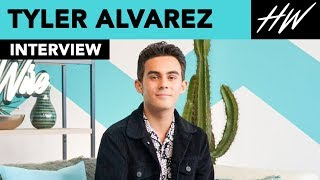 American Vandal's Tyler Alvarez Roommates with James Franco? | Hollywire - HOLLYWIRETV