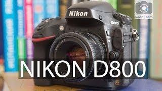 Nikon D800 - Обзор Полнокадровой Зеркальной Камеры на Kaddr.com