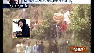 Jammu & Kashmir: Hundreds gather for 44 Rashtriya Rifles jawan Aurangzeb's final rites - INDIATV