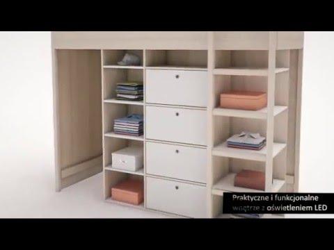 Spot by VOX - łóżko piętrowe
