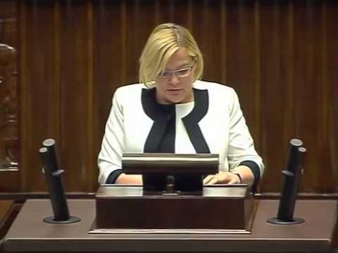 [323/594] Krystyna Poślednia: Pani Marszałek! Panie Ministrze! Wysoka Izbo! Mam zaszczyt przedst..