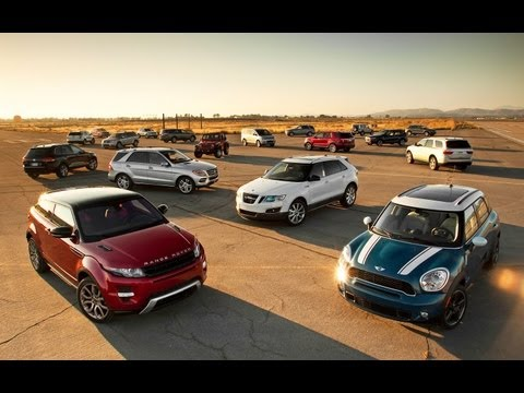 2012 Motor Trend SUV of the Year  - Competition Overview