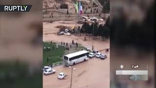 At least 17 dead, over 60 injured during heavy flooding in Iran - RUSSIATODAY