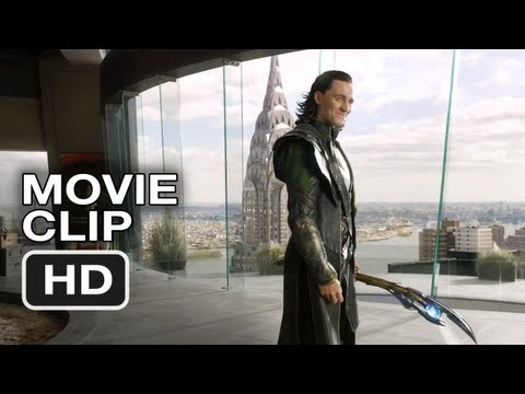 The Avengers #1 Movie CLIP - Loki's Threat - Marvel Movie (2012)