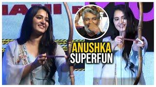 Anushka Shetty Superb Fun @ HIT Movie Pre Release Event - TFPC - TFPC