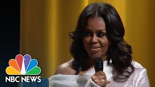 Former First Lady Michelle Obama Describes Life In The White House | NBC News - NBCNEWS